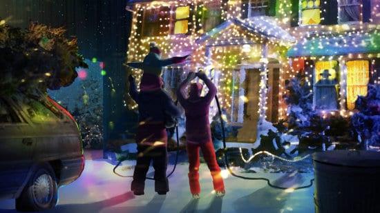 Christmas Vacation House