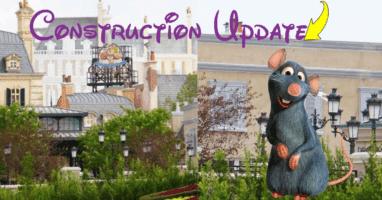 epcot construction france pavillion