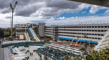 DLR Parking Construction