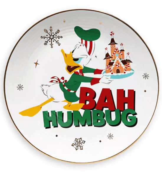 Donald Holiday Plate
