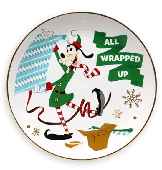 Goofy Holiday Plate