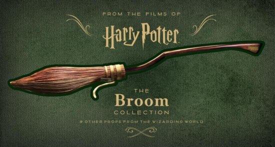 Harry Potter Broom Book