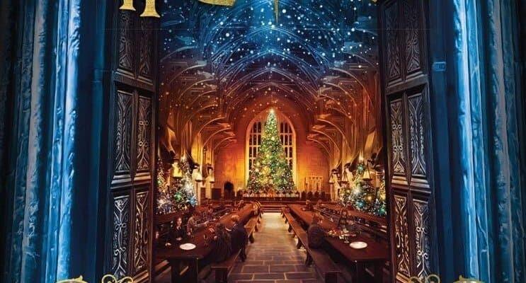 Harry Potter Christmas Book