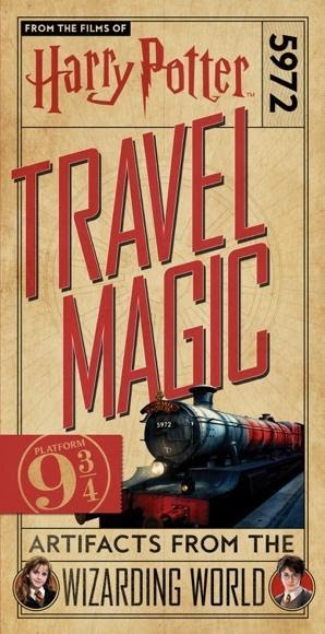 Harry Potter Travel Magic book cover