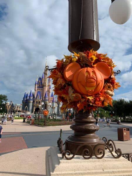 Halloween Decorations Magic Kingdom