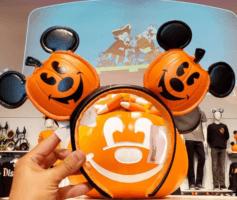 Jack O Lantern Pumpkin Mickey Ears