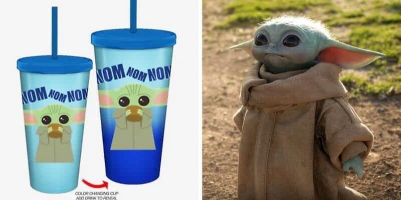 baby yoda cup