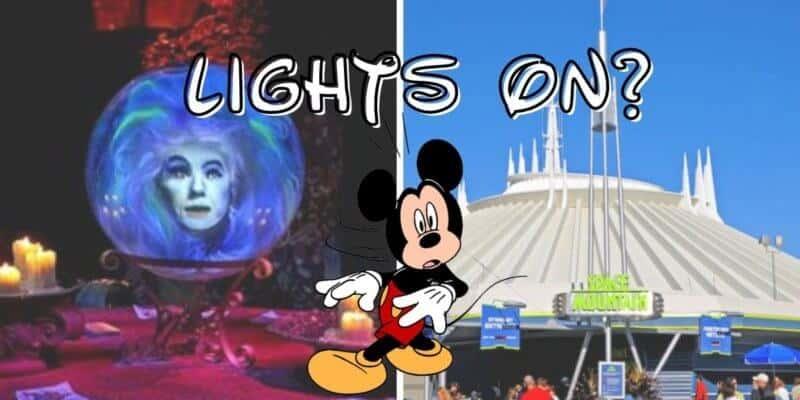disney world lights on