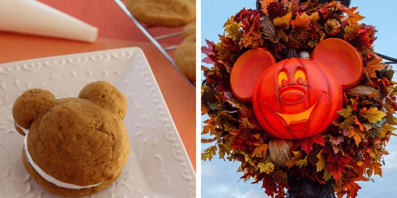 Mickey's Pumpkin Whoopie Pies