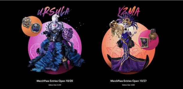 Midnight Masquerade usrula and Yzma