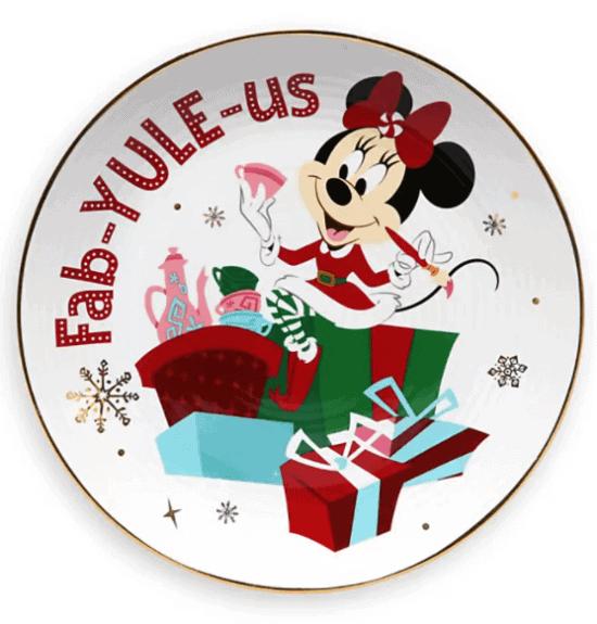 Minnie Holiday Plate