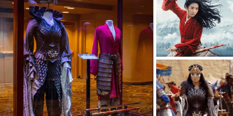 Mulan Costumes on Display