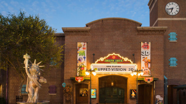 Muppet Vision 3D outer