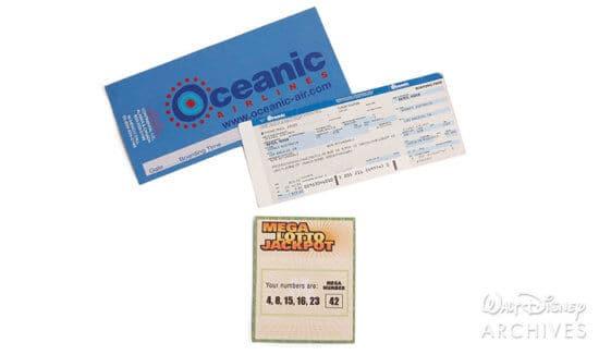 Oceanic Ticket Lost