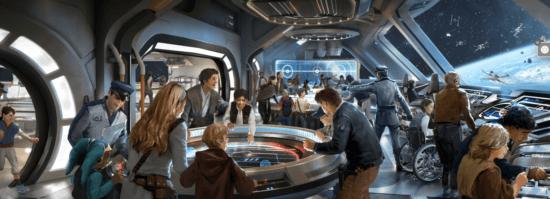 galactic starcruiser interior