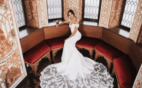 jasmine wedding gown