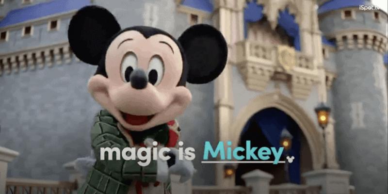 Walt Disney World holiday commercial