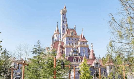 tokyo disney beast's castle