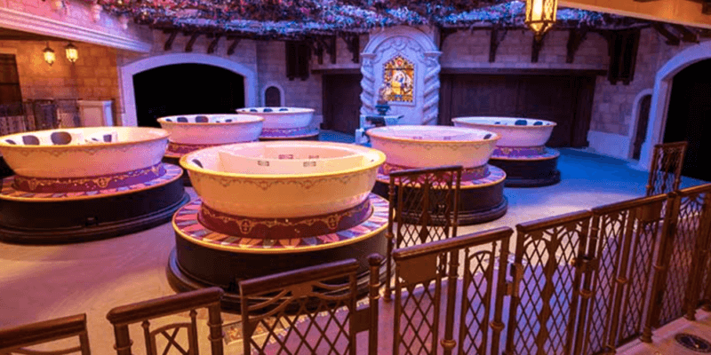 cups beauty and the beast ride