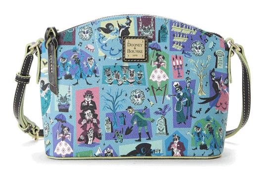 haunted mansion dooney & bourke crossbody bag