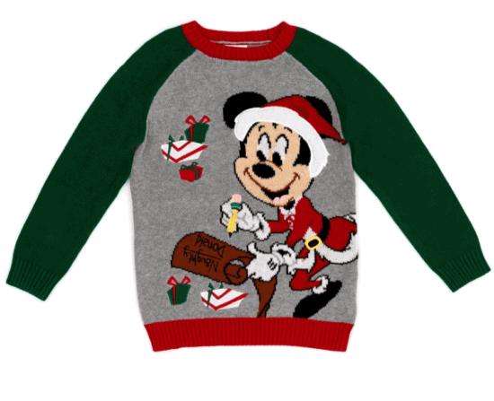 Mickey festive sweater