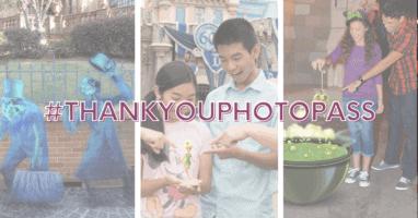 thank you photopass