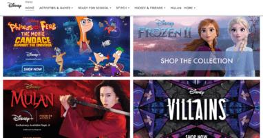 Amazon Disney Store