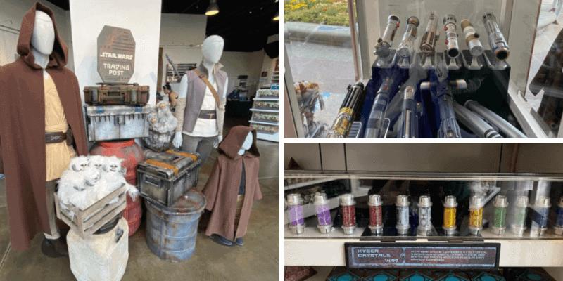 galaxy's edge merchandise downtown disney