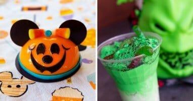 Disney Springs Halloween snacks