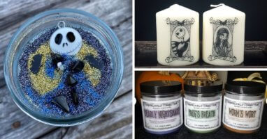 nightmare before christmas candles