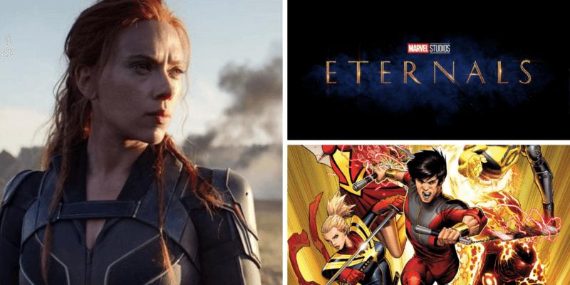 marvel films 2021 release