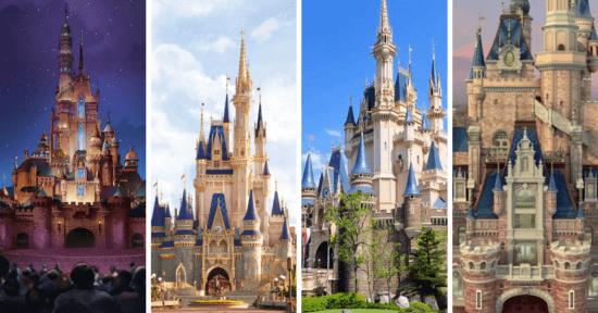 Disney Castles Around the World