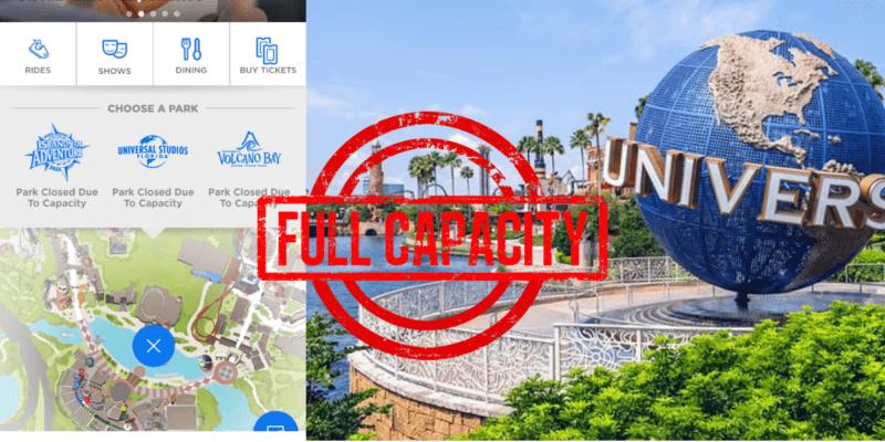 universal Orlando resort capacity