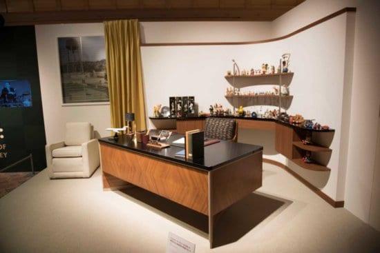 Walt Disney's office replica