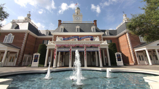 The American Pavilion at EPCOT