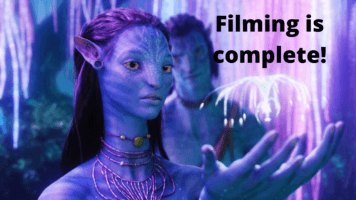 Avatar 2 finishes filming