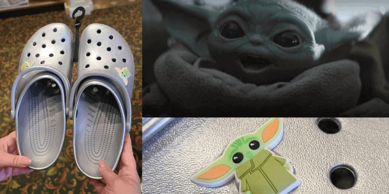 Baby Yoda Crocs