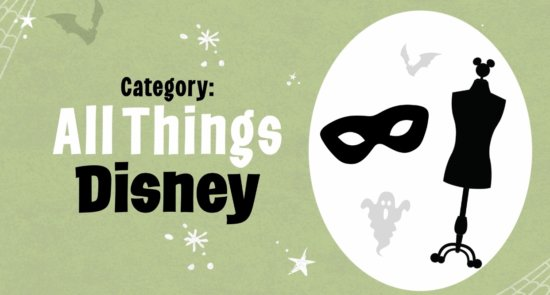 Theme: All Things Disney For D23 Costume Contest