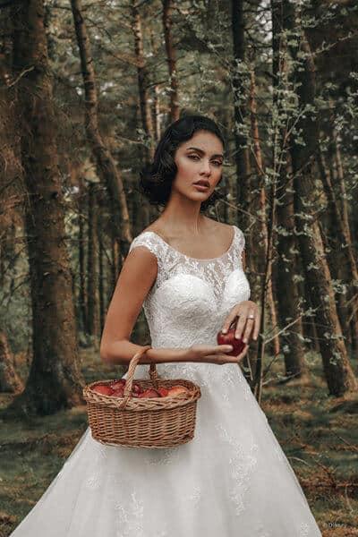 snow white gown