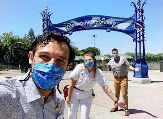 Disneyland Cast Members Testing