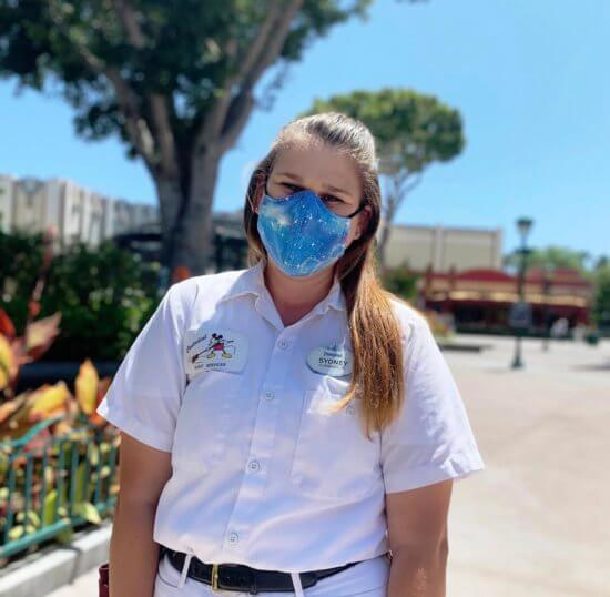 Custodial Cast Member Sydney is Exciting for Disneyland to Reopen