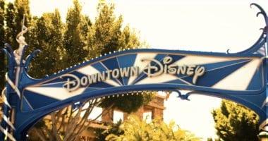 Downtown Disney District Sign