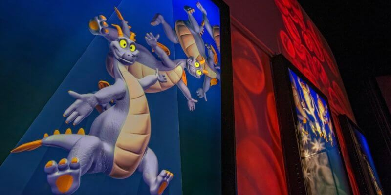 Figment from Journey Into Imagination!