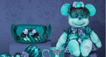 minnie mouse main attraction haunted mansion header