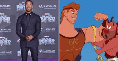 Michael B. Jordan Tops Fan Dream Cast for Hercules