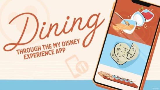 dining updates my disney experience