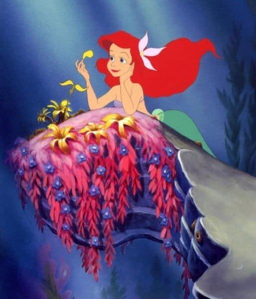 Princess Ariel in The Little Mermaid