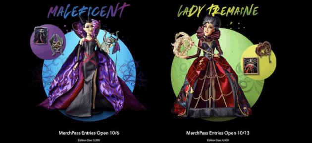maleficent tremaine dolls