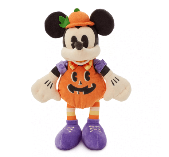 Mickey Halloween plush for 2020