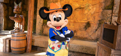 Mickey Mouse Meet and Greet Will Be Available to Tokyo Disneyland Guests